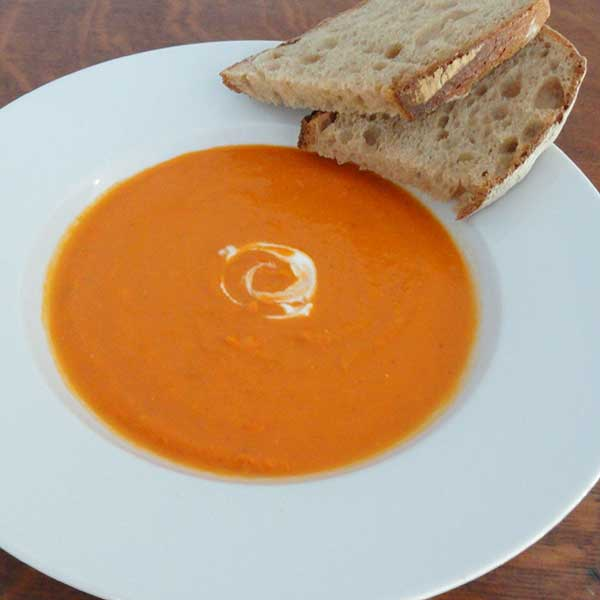 healthy pregnancy recipes carrot-and-tomato-soup
