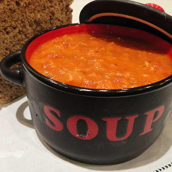 Healthy pregnancy diet recipe Tomato-and-lentil-soup