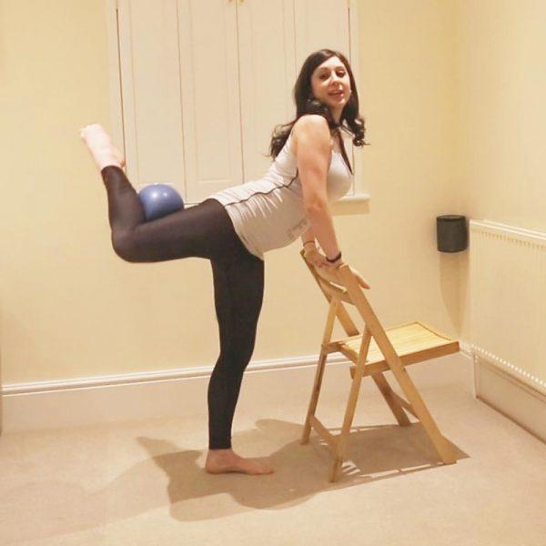 Pregnancy barre workout video