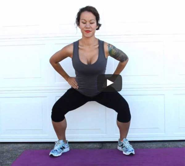 Booty toning pregnancy exercise video