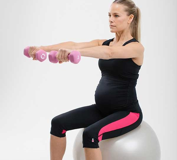 Fit pregnancy fit ball exercises