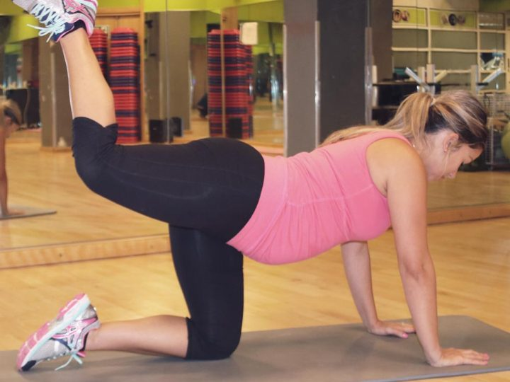Bum toning pregnancy workout video