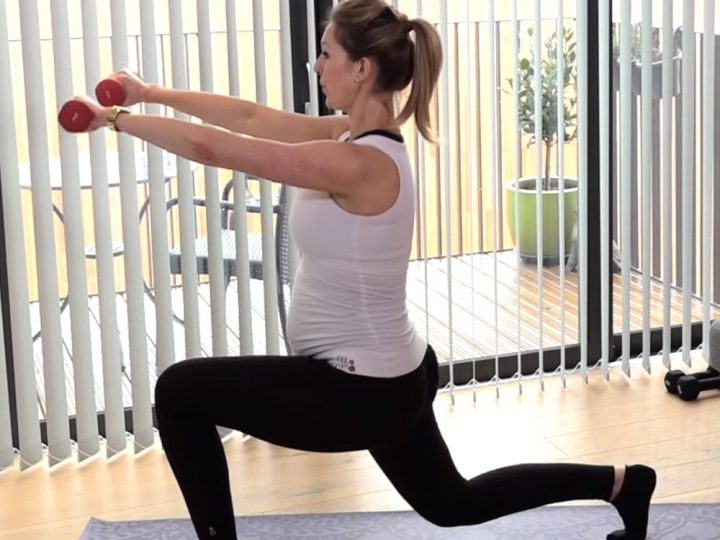 Pregnancy Pilates Leg Workout Video
