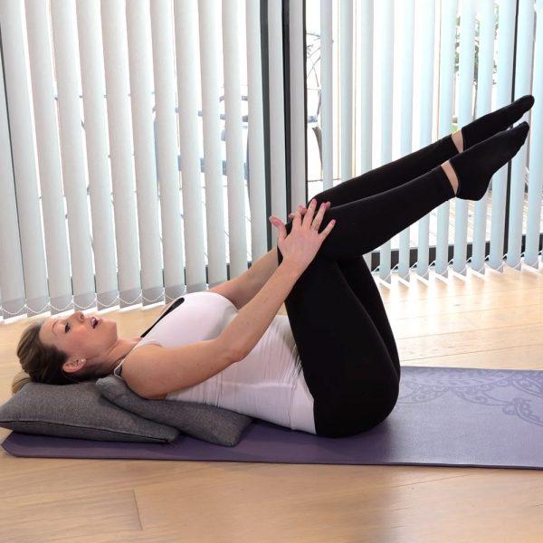 pregnancy pilates core workout video