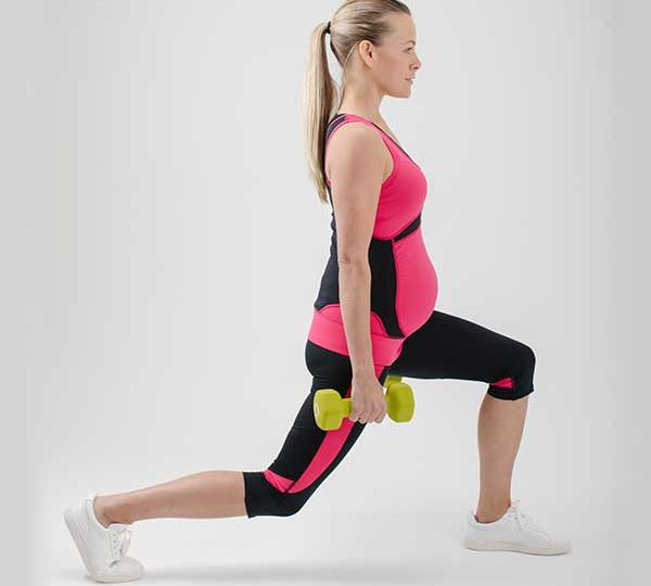 Pregnancy workout for legs and bum