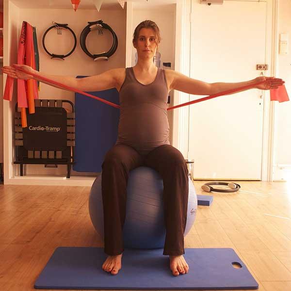 pregnancy pilates-exercise-bands