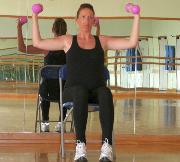 Quick workout for third trimester