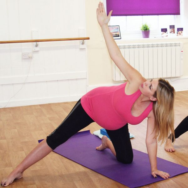 pregnancy yoga video for joint pain