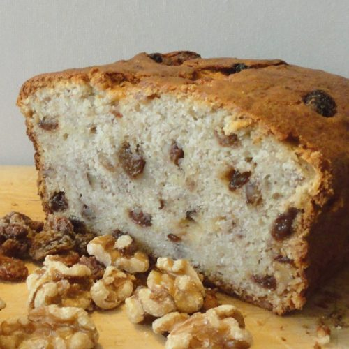 banana and nut load cake for healthy pregnancy treat