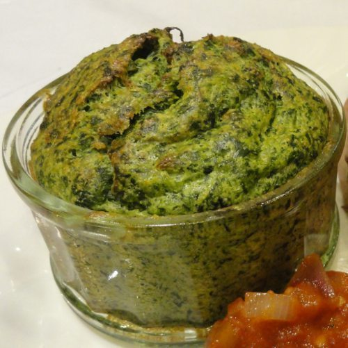 Healthy pregnancy meal spinach souffle recipe