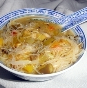 Healthy pregnancy diet chicken noodle soup