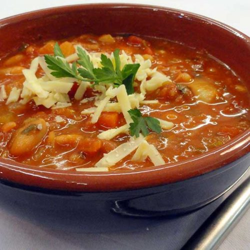 healthy pregnancy recipe vegetable-bean-soup
