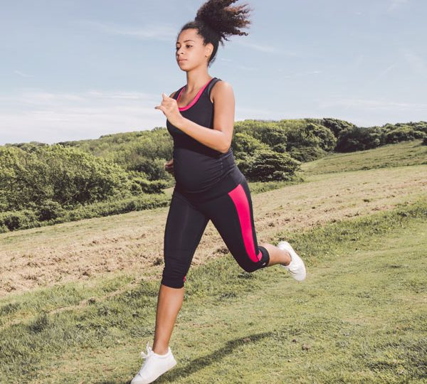 Running during pregnancy with Tommy