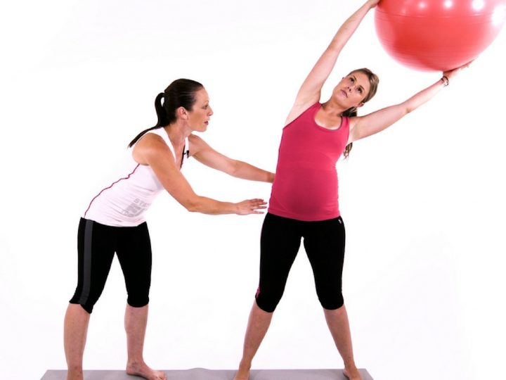 Pregnancy workout video for 3rd trimester