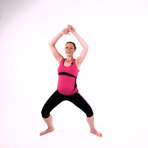 Safe pregnancy warm up video