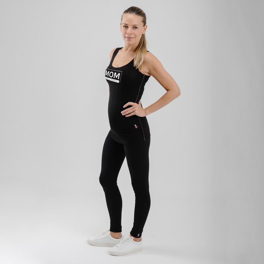 MOM Made Of Muscle Exercise Vest for Postnatal Fitness